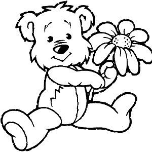 93 best images about Flower Coloring Pages on Pinterest  Free