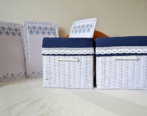 Hela503 / Box, kráľovská modrá/ks