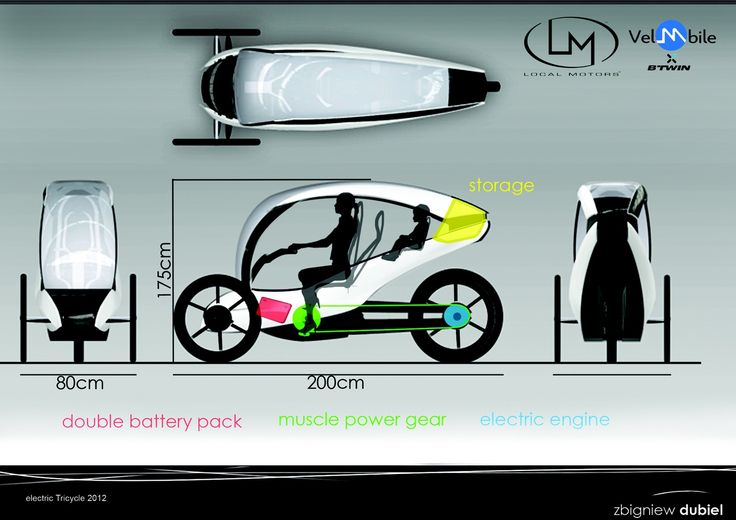 electric tricycle   Local Motors