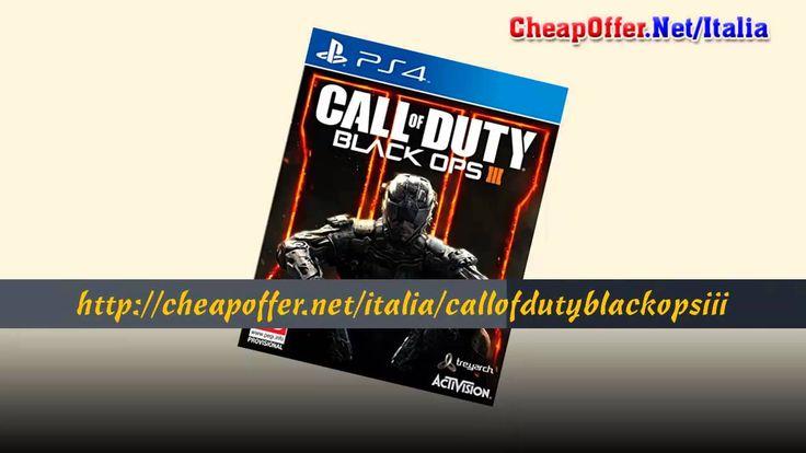 Videogiochi Italia PS4: Call Of Duty Black Ops III
