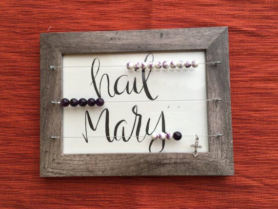 Kitchen Rosary, abacus style rosary