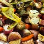 Easy Peasy Roasted Vegetables