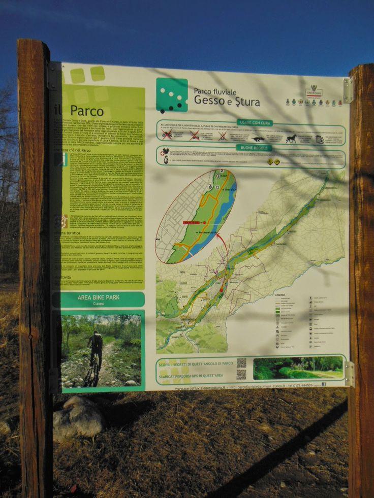 Cuneo e dintorni: Pista mountain bike al Parco Fluviale
