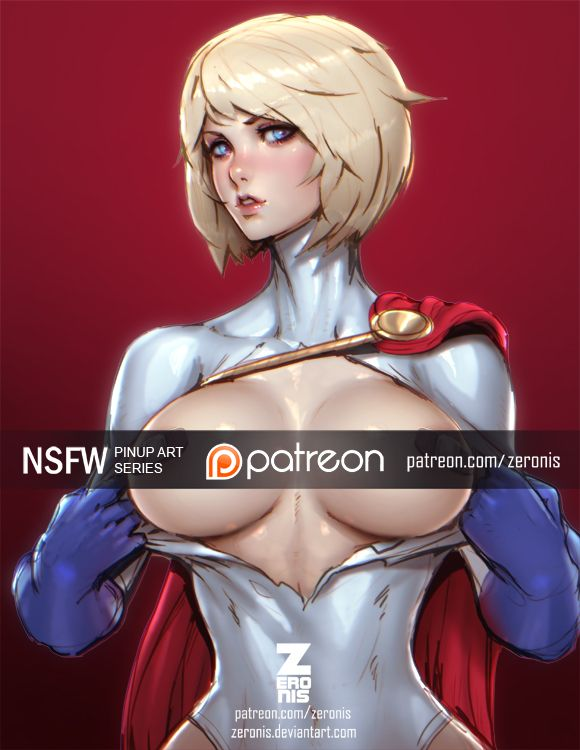 Powergirl Nsfw By Zeronis  Artists  Pinterest  Power -2617