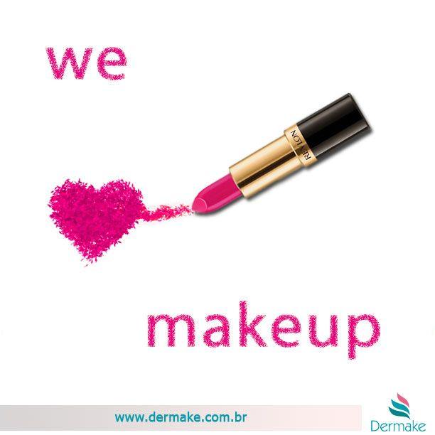 Bom dia !! Quem não ama maquiagem ?!? Quem não usa maquiagem?!? Sabe de nada inocente...   www.dermake.com.br/maquiagem  #makeup #maquiagem #lindas #revlon #indicetokyo #bourjois #ardell #sigma #dermake #cosméticos #cosmetics