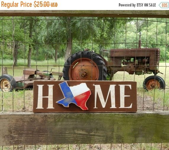 Rustic Texas Home Sign, Texas Home, Rustic Home Sign, Country Chic, Dorm/Apartment/Home Decor, Texas State Flag, Southern decor, Texas Sign