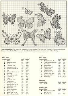 63 butterflies, part 2