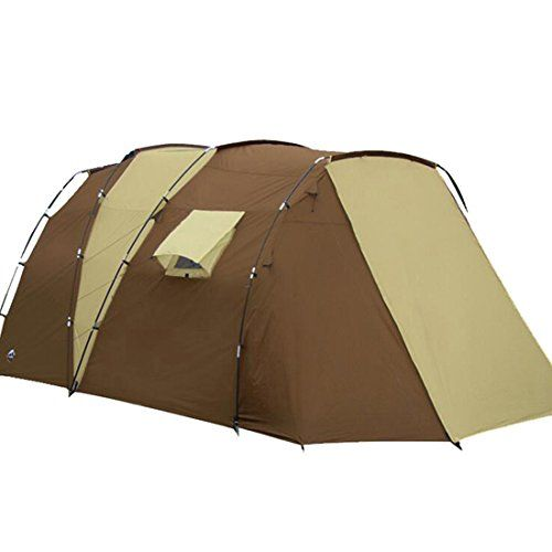 Hengfey Camping Family Plus Tent Waterproof Hiking Cabin Backpacking for 5-8 Person