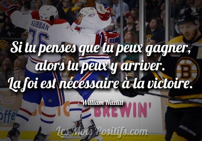 Une petite pensée pour les Canadiens de Montréal
