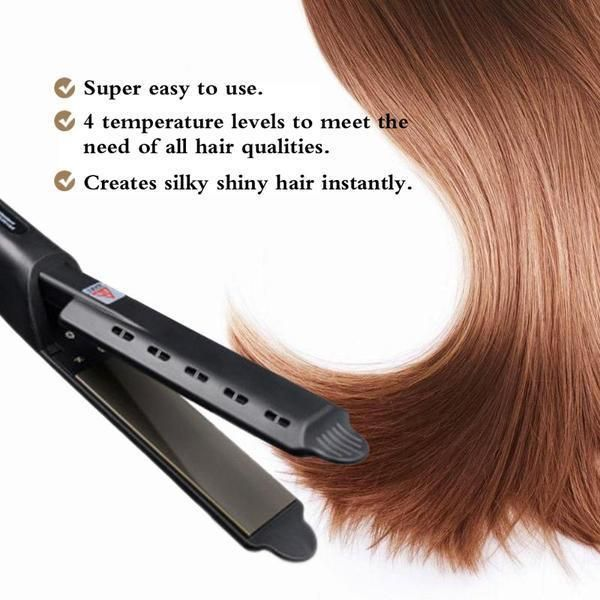 Ceramic Tourmaline Ionic Flat Iron Hair Straightener Free Shipping Flatironwaves Hair Straightening Iron Hair Straighteners Flat Irons Flat Iron Hair Styles