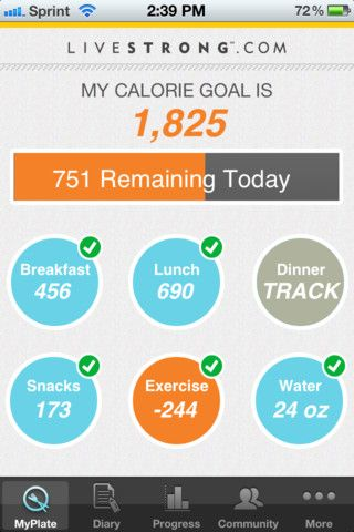 The BEST app for tracking calories/exercise/weight. By far.