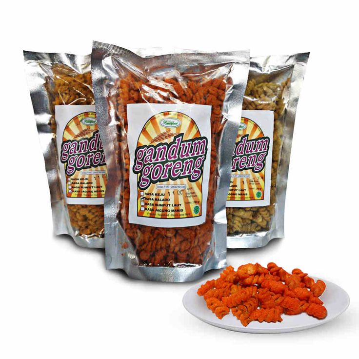 #Snack Gandum Goreng available now