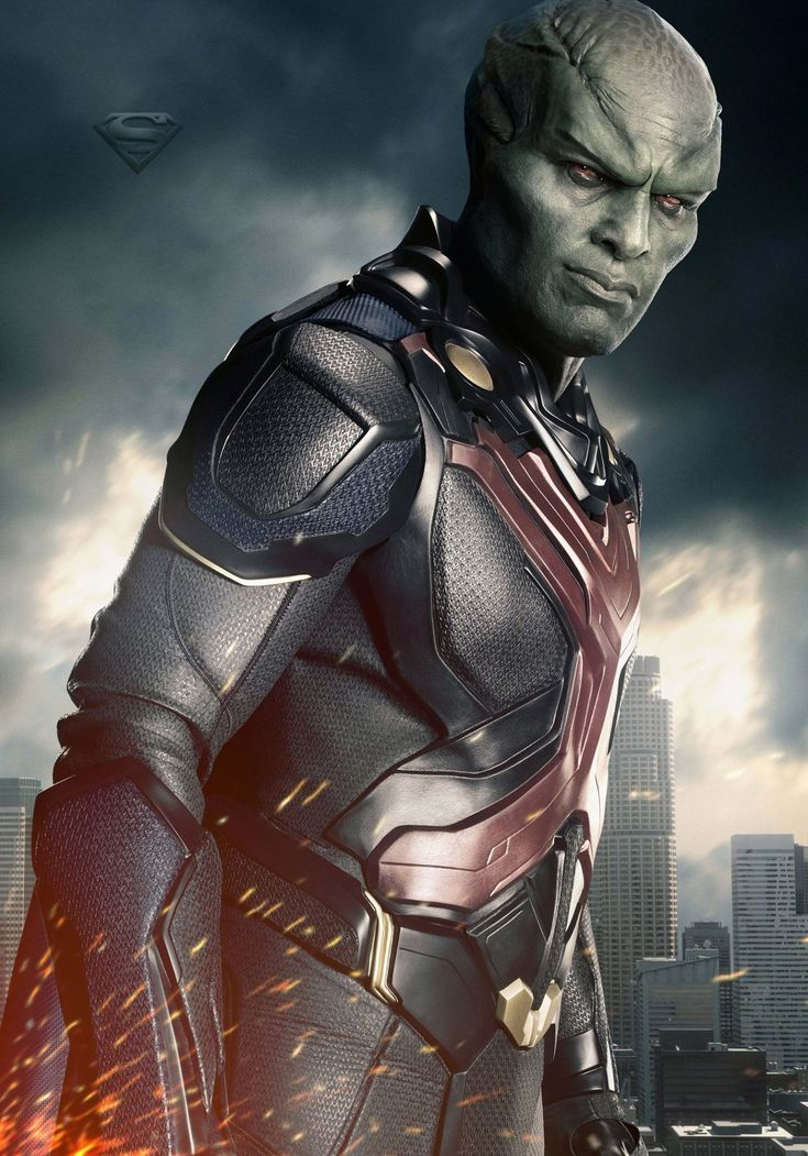 Supergirl season 2 poster of  Martian Manhunter