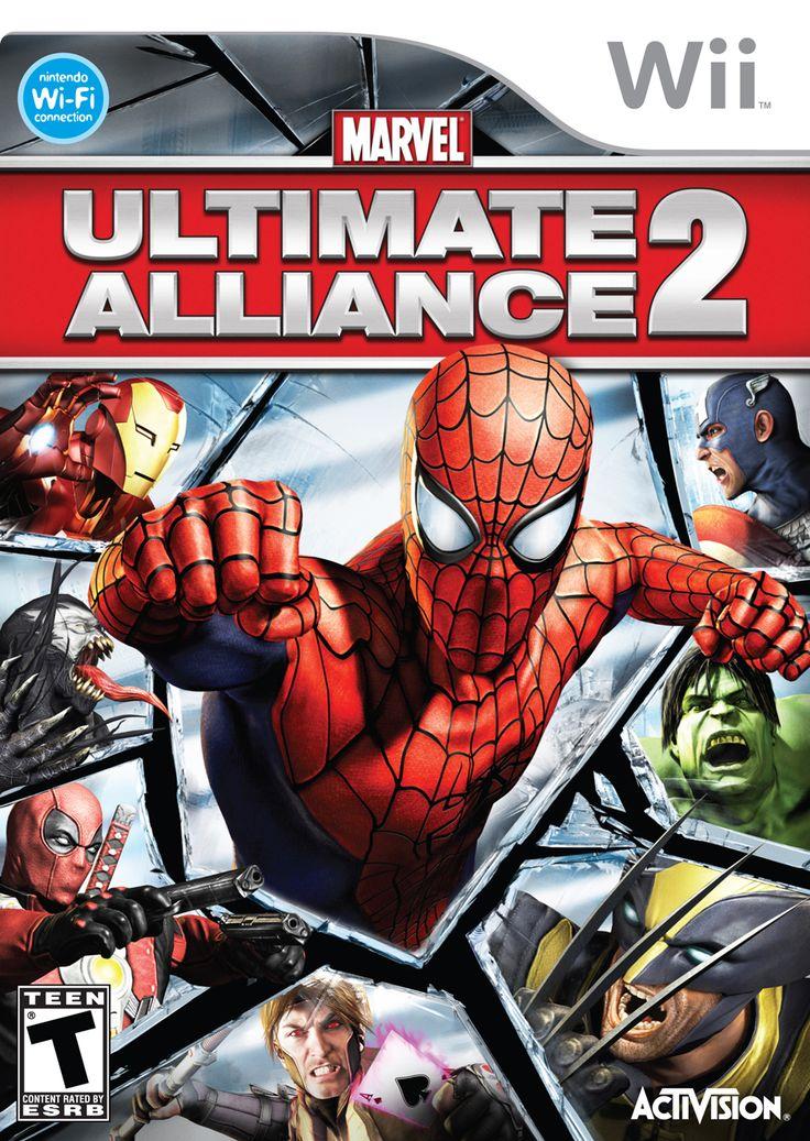 Marvel Ultimate Alliance 2 Nintendo WII Game