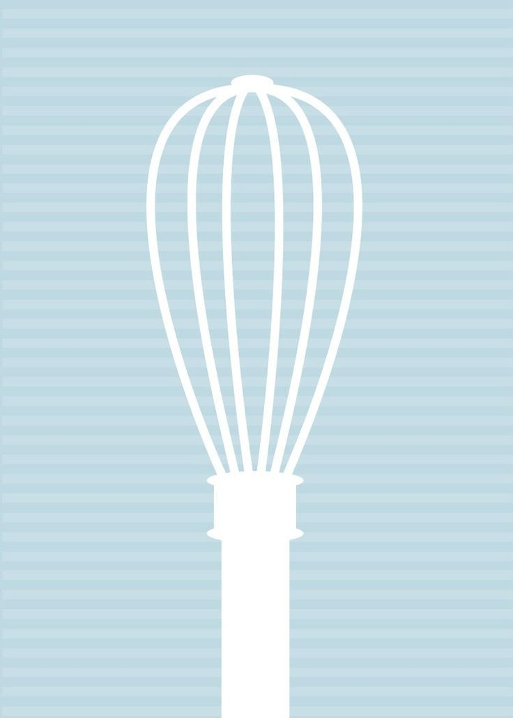 Cuisine moderne art print fouet silhouette par oodlesofcolor kitchen doors cuisine moderne - Poster cuisine moderne ...