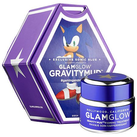 Shop GLAMGLOW's GRAVITYMUD™ Firming Treatment Exclusive Sonic Blue at Sephora. This firming Treatment features Sega's Sonic the Hedgehog for an out-of-this-world peel-off mud treatment.