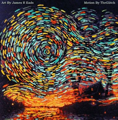"""illusion911: """"Σας ευχαριστώ @jamesreads για να αφήσει να χρησιμοποιήσετε φανταστική τέχνη σας.  Τέχνης από τον James R Eads κίνησης από TheGlitch """""""