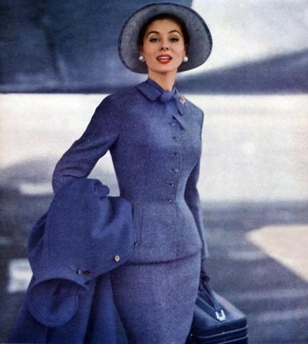 Suzy Parker 1955, Colour!