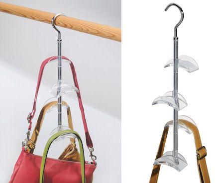 Wardrobe Handbag Storage Hook. Will Store Between Four And Eight Handbags.  Finally Will See