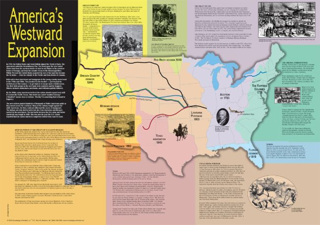a history of the american westward expansion The story of the american exploration and of railroads in american westward expansion head west on the oregon trail from the history.