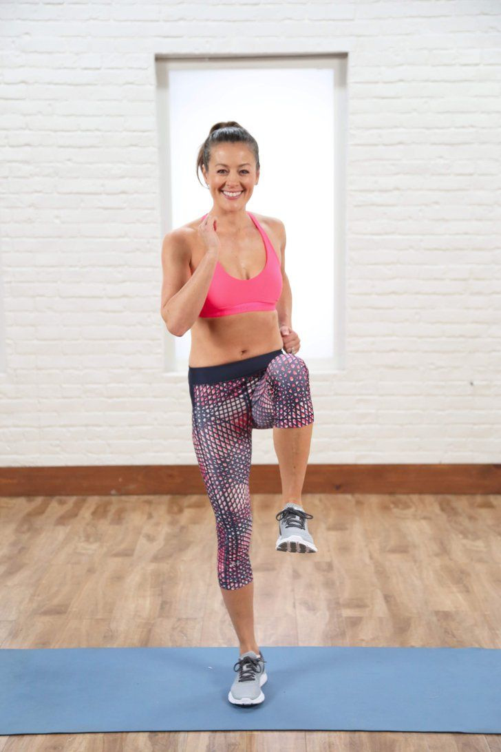 10-Minute Calorie-Burning Cardio and Core Circuit #fitness