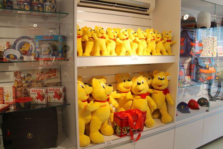Wizyta w sklepie firmowym Haribo w Bonn