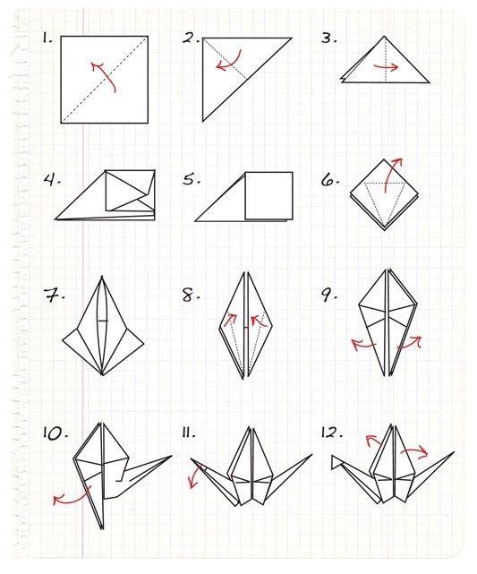 Como hacer pajarita de papel