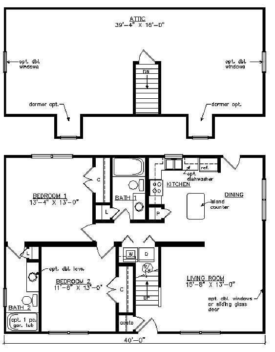 16 best Modular Home Floor Plans images on Pinterest | Cape cod ...