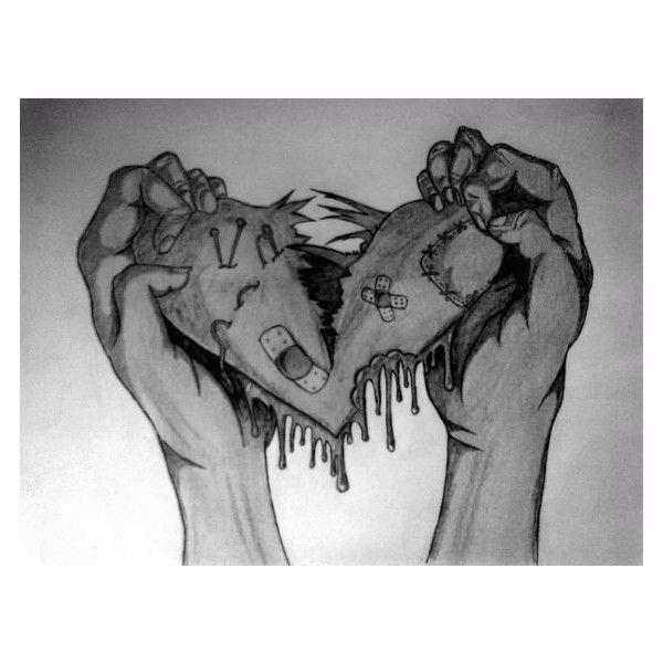 image result for drawings broken heart