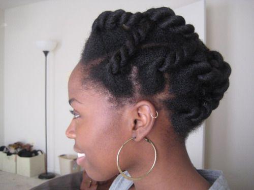 Natural Hair A B