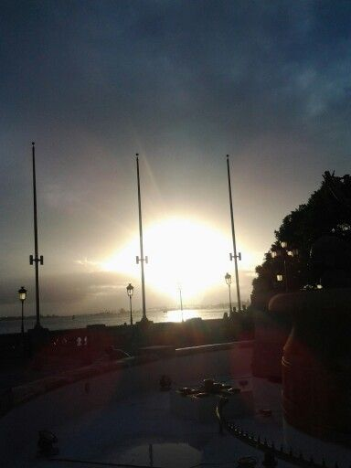 Es que en mi isla las puestas del sol son hermosas
