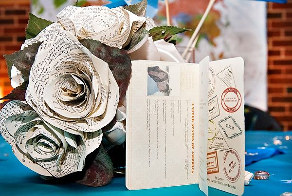 DIY Vintage-Style, Travel-Themed Wedding - Hostess with the Mostess®