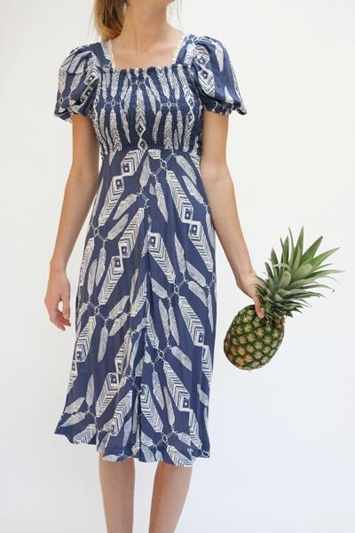 IvanaHelsinki Print Dress