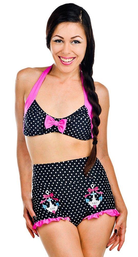 Donna Bikini in Bow Anchors   Blame Betty
