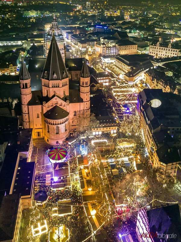 Christmas Market in Mainz,  Germany