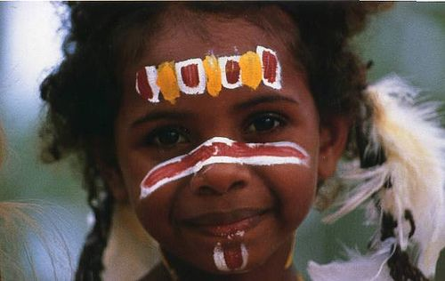 Aboriginal Australian Gril
