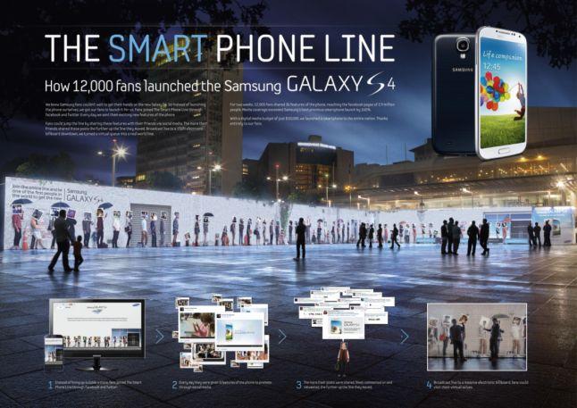 The Smart Phone Line - Gold Award 'Promotional/activation effort'