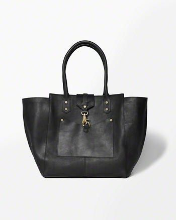Leather Tote Bag from Abercrombie & Fitch $300,00