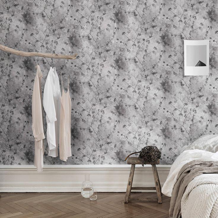 ber ideen zu graue tapete auf pinterest damast tapete wandmalereien und grau. Black Bedroom Furniture Sets. Home Design Ideas