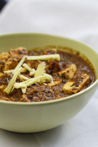 [indisch] Paneer Methi Malai - indischer Käse in sahniger Sauce mit Tofu aps vegane Variante?