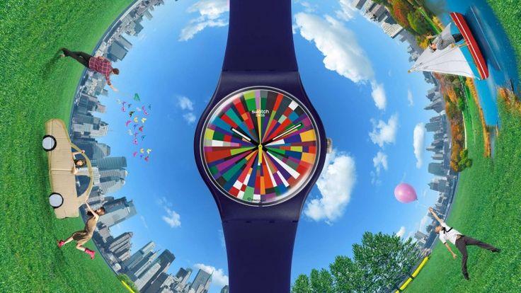 세계적인 시계 제작사인 스와치 그룹이 스마트워치를 독자 개발하겠다고 밝혔다.