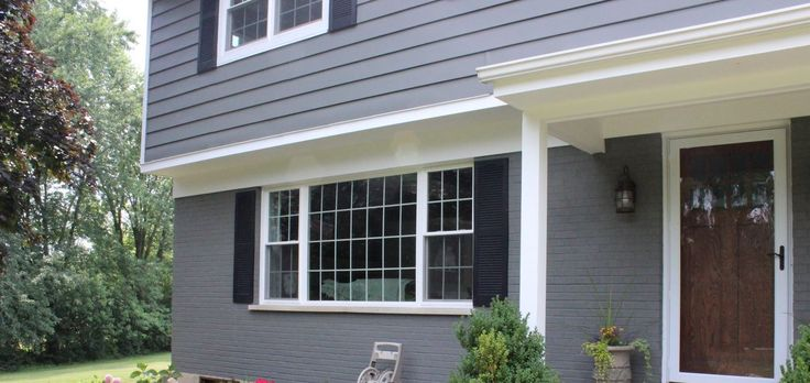 17 Best Ideas About Exterior Shutter Colors On Pinterest