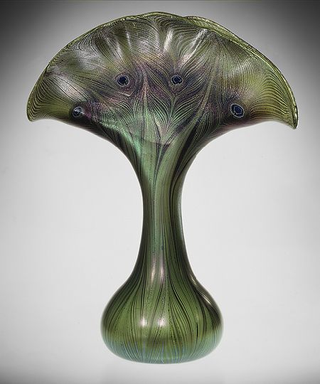 Vase by Louis Comfort Tiffany: Tiffany Glass, Art Nouveau, Metropolitan Museum, St. Louis, Louis Comfort Tiffany