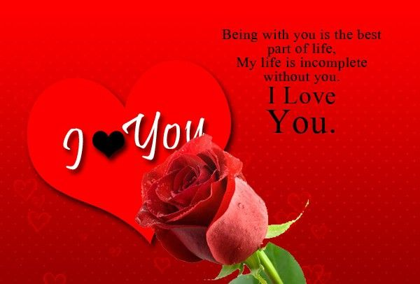 Best Love Quotes I Love You Sayings My Life Incomplete Without You