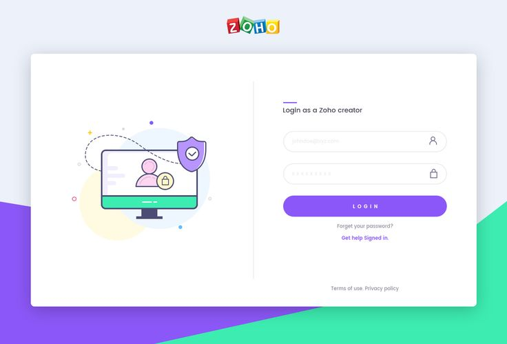 "Check out this @Behance project: ""Zoho Creator Admin Login Page"" https://www.behance.net/gallery/50755543/Zoho-Creator-Admin-Login-Page"