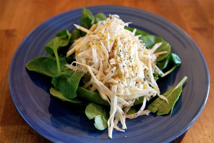 Салат с телятиной и сельдереем. Рецепт приготовления блюда