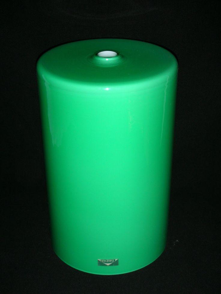 SKYSCRAPER CAPE TOWN - 20th CENTURY CLASSICS: Set 2 Vistosi Murano Italy Cased Glass Pendant Lam...