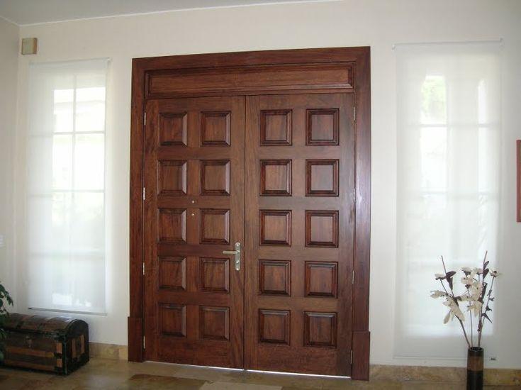 75 best images about puertas on pinterest craftsman door for Puerta principal de madera