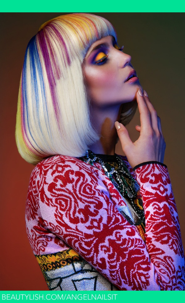 Paradigm, Syn Magazine, Oct 2012 | Angel W.'s (AngelNailsIt) Photo | Beautylish