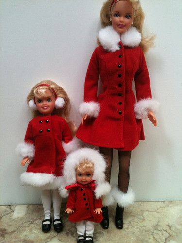 Vintage Barbie Dolls 1999 Holiday Sisters Barbie Stacie Kelly Gift Set | eBay
